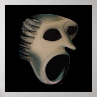 Earth Scream Poster Art