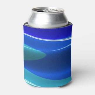 Earth & Sea Brago-Mitchell Fine Fractal Art Can Cooler