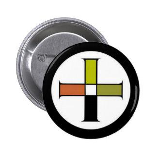 Earth seal pinback button