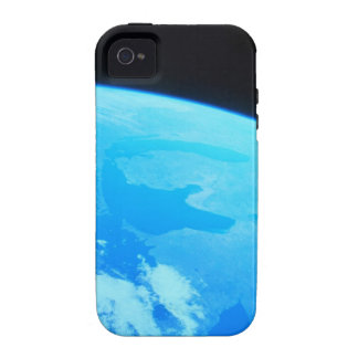 Earth Seen from a Satellite 2 iPhone 4 Cases