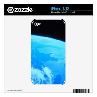 Earth Seen from a Satellite 2 iPhone 4 Skin