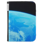 Earth Seen from a Satellite 2 Kindle Covers