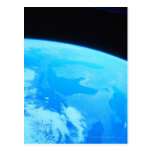Earth Seen from a Satellite 2 Postcard