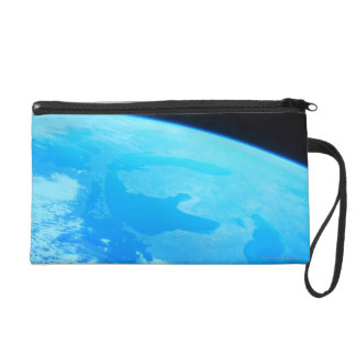 Earth Seen from a Satellite 2 Wristlet