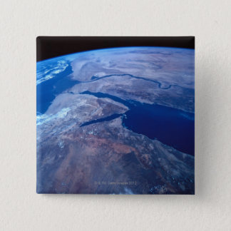Earth Seen from a Satellite Pinback Button