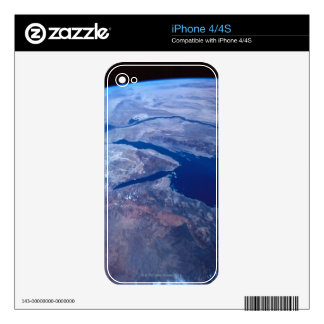 Earth Seen from a Satellite Skin For iPhone 4S