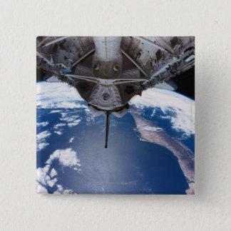 Earth seen from a Space Shuttle Button