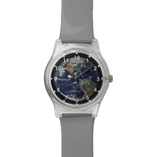 Earth seen from Apollo Mission Watch