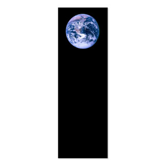 Earth Seen From Space 'Blue Marble' Business Card Template