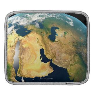 Earth Seen from Space iPad Sleeve