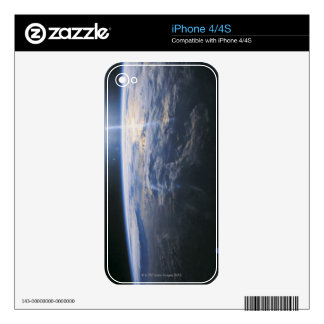 Earth seen from Space iPhone 4S Skins