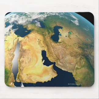 Earth Seen from Space Mouse Pad
