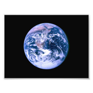 Earth Seen From Space Photo Print