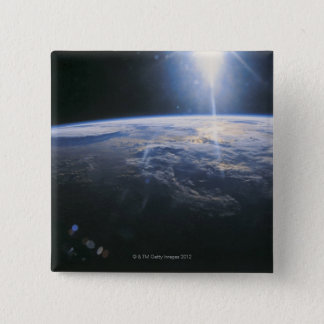 Earth seen from Space Pinback Button