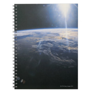 Earth seen from Space Spiral Notebook