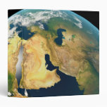 Earth Seen from Space Vinyl Binder