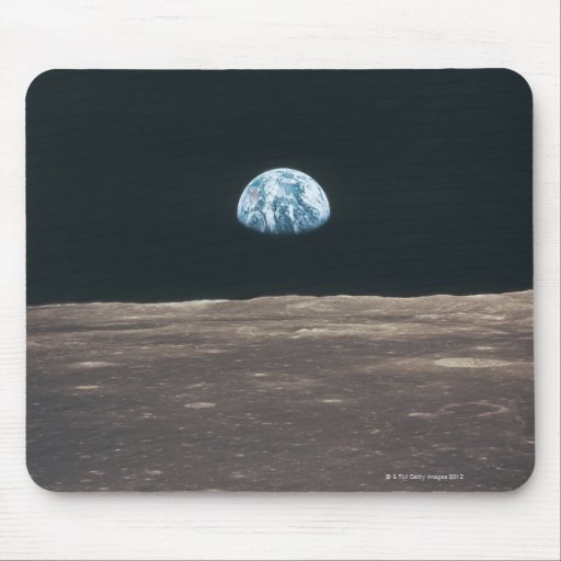 Earth Seen from the Moon Mouse Pads