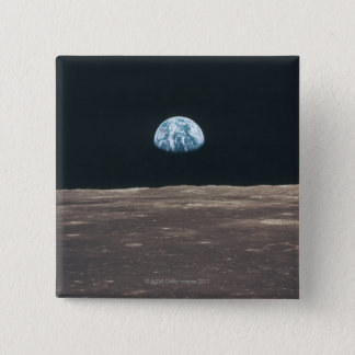 Earth Seen from the Moon Pinback Button