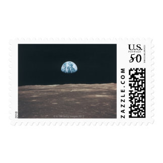 Earth Seen from the Moon Postage