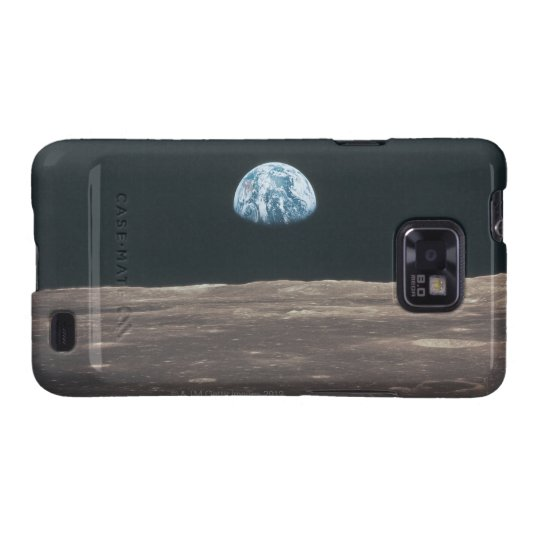 Earth Seen from the Moon Samsung Galaxy SII Case