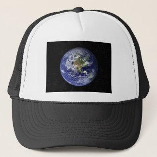 Earth shirt trucker hat
