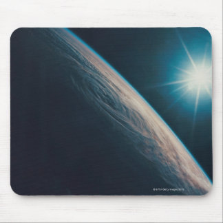Earth Showing a Tropical Storm Mouse Pad