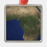 Earth showing landcover over Africa Christmas Ornaments