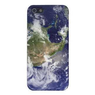 Earth showing the western hemisphere iPhone 5 cases