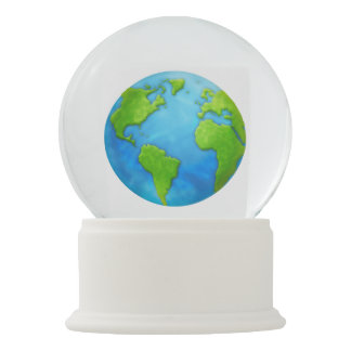 Earth Snowglobe
