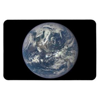 Earth, Space, America Rectangular Photo Magnet