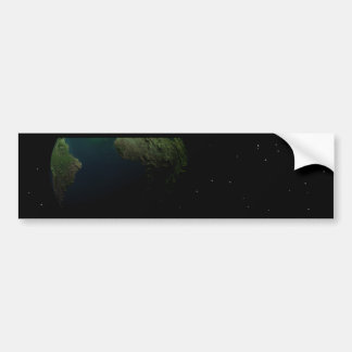 Earth Space Odyssey Collection Car Bumper Sticker