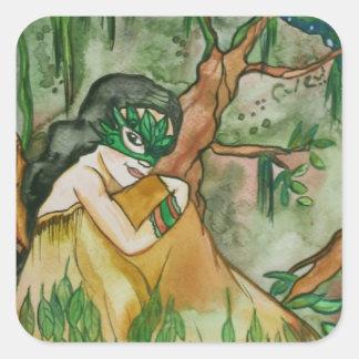 Earth spirit fantasy Stickers
