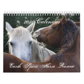 Earth Spirit Horse Rescue, 2011 Calendar