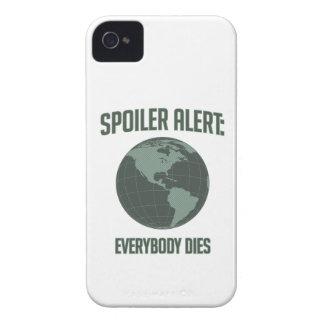 Earth Spoiler Alert: Everybody Dies iPhone 4 Cover