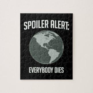 Earth Spoiler Alert: Everybody Dies Puzzle
