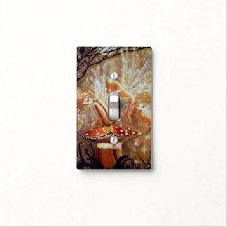 Earth Sprites - Fair Art Light Switch Cover