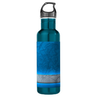 Earth Stainless Steel Water Bottle