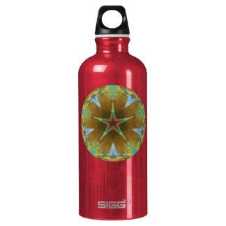 Earth Star Fractal Mandala Liberty SIGG Traveler 0.6L Water Bottle