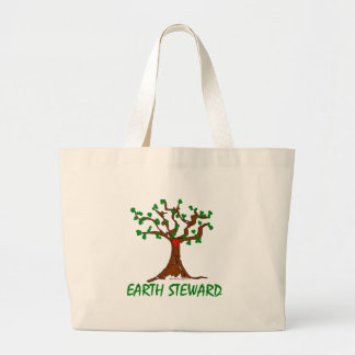 Earth Steward Large Tote Bag
