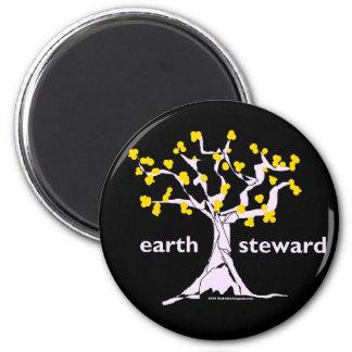 Earth Steward 2 Inch Round Magnet
