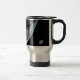 Earth-storms-and-moon1148 astronomy, blue, clouds, 15 oz stainless steel travel mug