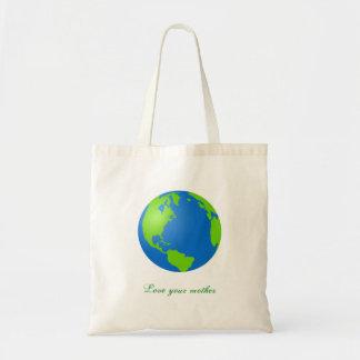 Earth_suble_tone, ama a su madre bolsa de mano