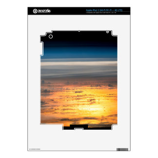 Earth sunset from the International Space Station iPad 3 Skin