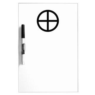 Earth Symbol Dry-Erase Board