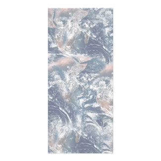 Earth Texture Background Full Color Rack Card
