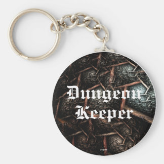 EARTH TEXTURE Dungeon Keeper Keyring Basic Round Button Keychain