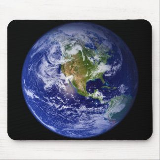 Earth The Beautiful Blue Marble Mouse Pad