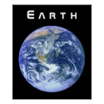 Earth - The Blue Marble Poster