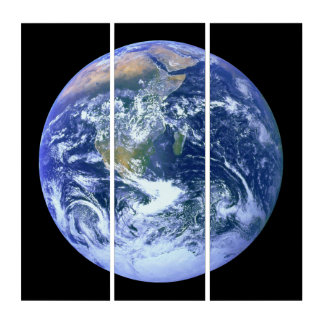 Earth: The Blue Marble Triptych