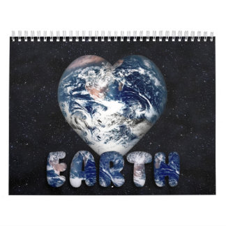 Earth Themed  Calendar